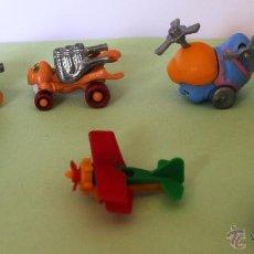 Figuras Kinder: *LOTE DE MUÑECOS KINDER DE VARIAS COLECCIONES* DISEÑO AÑOS 80´. Lote 54742516