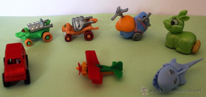 Figuras Kinder: *LOTE DE MUÑECOS KINDER DE VARIAS COLECCIONES* diseño años 80´ - Foto 2 - 54742516