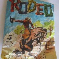 Figuras de Goma y PVC: SOBRE SERJAN RODEO, DE PRIMEROS DE LOS AÑOS 70. CC. Lote 54753410
