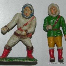 Figuras de Goma y PVC: ESQUIMALES SOTORRES, TAL COMO SE VE EN LAS FOTOGRAFIAS PUESTAS.. Lote 54758048
