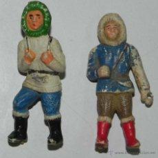 Figuras de Goma y PVC: ESQUIMALES SOTORRES, TAL COMO SE VE EN LAS FOTOGRAFIAS PUESTAS.. Lote 54758080