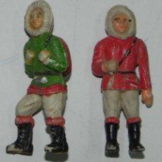 Figuras de Goma y PVC: ESQUIMALES SOTORRES, TAL COMO SE VE EN LAS FOTOGRAFIAS PUESTAS.. Lote 54758101