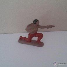 Figuras de Goma y PVC: FIGURA VAQUERO OESTE REAMSA - Nº 82 - GOMA - . Lote 54798098