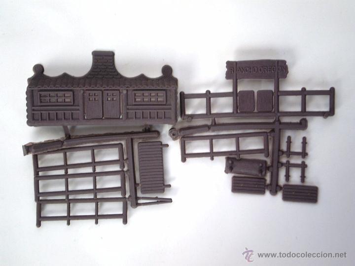Figuras de Goma y PVC: MONTAPLEX 1 COLADA DEL RANCHO OREGON DEL SOBRE Nº 458 - EN COLOR MARRÓN VIOLACEO - DIFICIL - Foto 2 - 54808615
