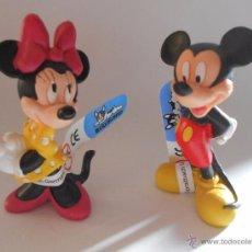 Figuras de Goma y PVC: MINNIE Y MICKEY FIGURAS DE GOMA BULLY. Lote 54811808