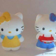 Figuras de Goma y PVC: HELLO KITTY 2 FIGURAS DE GOMA BULLY. Lote 54827806