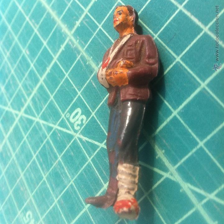 Figuras de Goma y PVC: jecsan ? dificilisima figura hombre herido/accidentado. - Foto 4 - 54859888