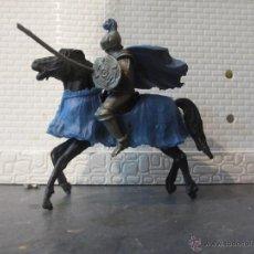 Figuras de Goma y PVC: FIGURA PLASTICO MEDIEVAL TORNEO REIGON . Lote 54864734