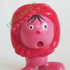 Figuras de Goma y PVC: ANTIGUA FIGURA DE MIM - MASCOTA DE PROGRAMA DE TELEVISIÓN AÑOS 80 - TVE JUGUETE DE GOMA M I M - RTVE. Lote 54878632