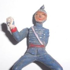 Figuras de Goma y PVC: FIGURA DE LA GUADIA MORA DE FRANCO, TEIXIDO, LE FALTA UN BRAZO. Lote 54923244