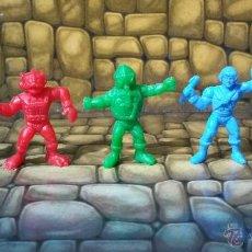 Figuras de Goma y PVC: FIGURA DUNKIN LOTE FIGURAS CAPADAS MASTERS DEL UNIVERSO PANRICO PVC PHOSKITOS HEMAN HE-MAN. Lote 55000738