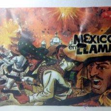 Figuras de Goma y PVC: MEXICO EN LLAMAS - LA ILUSIÓN. Lote 55031287