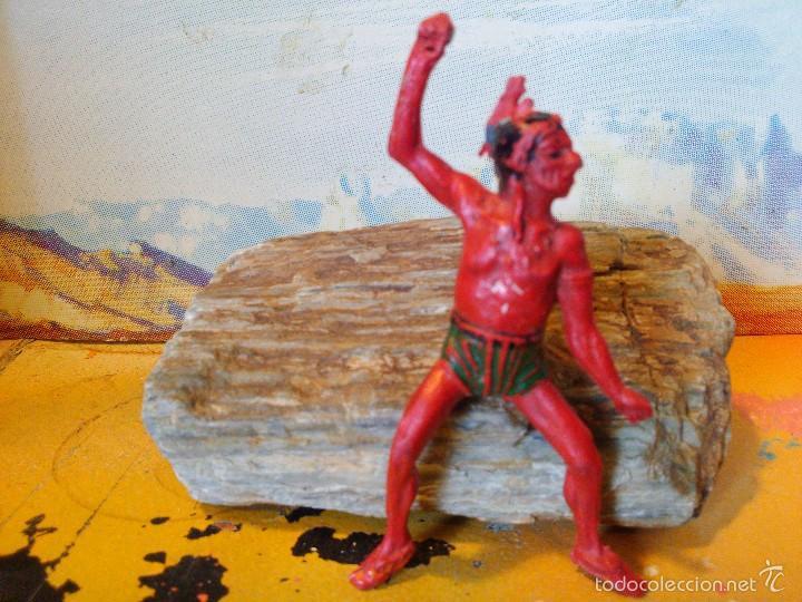 COMANSI INDIO EN GOMA (Juguetes - Figuras de Goma y Pvc - Pech)