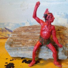 Figuras de Goma y PVC: COMANSI INDIO EN GOMA. Lote 55320572