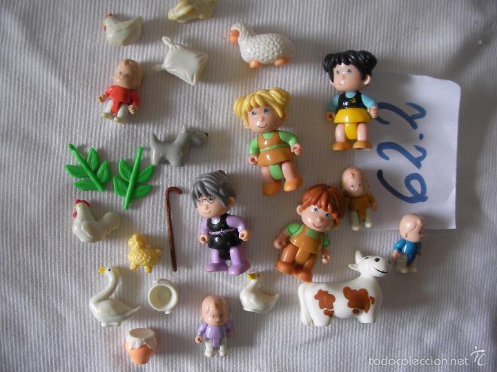 GRAN LOTE FIGURAS Y VARIOS PIN Y PON (Juguetes - Figuras de Goma y Pvc - Otras)