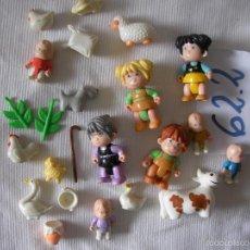Figuras de Goma y PVC: GRAN LOTE FIGURAS Y VARIOS PIN Y PON. Lote 55334229