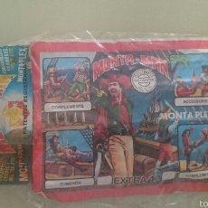 Figuras de Goma y PVC: SOBRES MONTAPLEX EXTRAS 11 Y 12. Lote 55378468