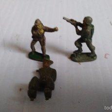 Figuras de Goma y PVC: LOTE DE 3 FIGURAS ANTIGUAS JECSAN . Lote 55525905