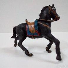 Figuras de Goma y PVC: CABALLO . FABRICADO POR TEIXIDO . GOMA AÑOS 50. Lote 55689041