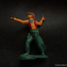 Figuras de Goma y PVC: FIGURA VAQUERO GOMA GAMA. Lote 55694297