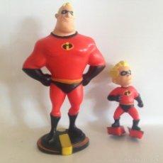 Figuras de Goma y PVC: ANTIGUA FIGURA PVC LOS INCREIBLES BULLYLAND HAND PAINTED GERMANY BULLY GOMA DURA . Lote 55710192