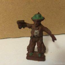 Figuras de Goma y PVC: MUÑECO DE GOMA VAQUERO. REAMSA/GOMARSA. Lote 55716436