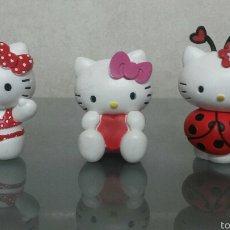 Figuras de Goma y PVC: LOTE 3 FIGURAS PVC HELLO KITTY BULLY. Lote 55776652