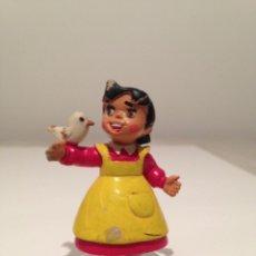 Figuras de Goma y PVC: HEIDI ANTIGUA FIGURA PVC GOMA ORIGINAL COMICS SPAIN AÑOS 80. Lote 55795472
