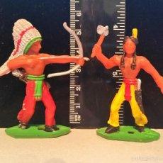 Figuras de Goma y PVC: GOM-1341_INDIOS MINIOESTE COMANSI. Lote 55860666