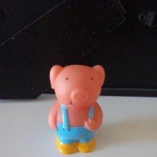 Figuras de Goma y PVC: FIGURA GOMA PVC CERDITO PERSONAJE DIBUJOS ANIMADOS.. Lote 55881396