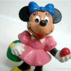 Figuras de Goma y PVC: FIGURA MINNIE MOUSE - BULLY 1983 WEST GERMANY. Lote 56010494