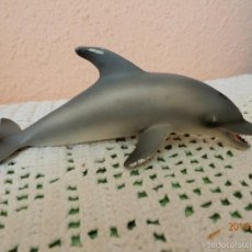 Figuras de Goma y PVC: DELFIN 1:32 DE SCHLEICH GERMANY 2005 MADE IN PORTUGAL. Lote 56013194