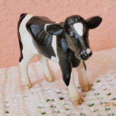 Figuras de Goma y PVC: VACA DE SCHLEICH GERMANY 2000. Lote 56013219