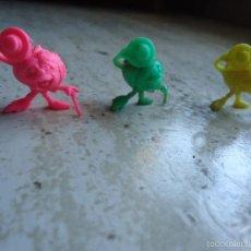 Figuras de Goma y PVC: 4 RUPERTAS PEQUEÑAS YOLANDA 1991 TVE. Lote 55781599