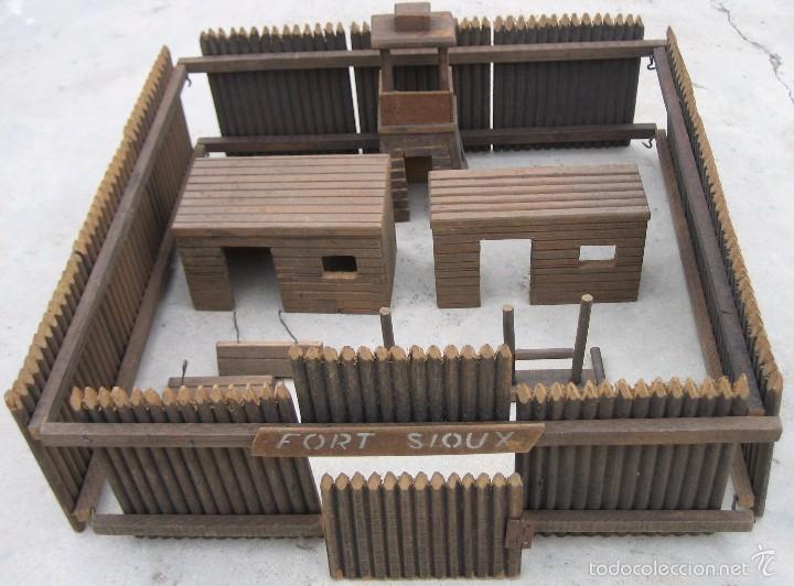 Fuerte de madera fort sioux ideal para dioram comprar - Pegamento fuerte para madera ...