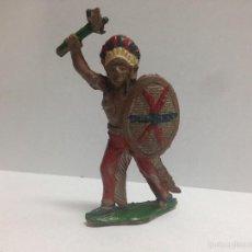 Figuras de Goma y PVC: FIGURA INDIO FABRICADO EN GOMA POR LAFREDO MIDE 7 CMTS. Lote 56044406