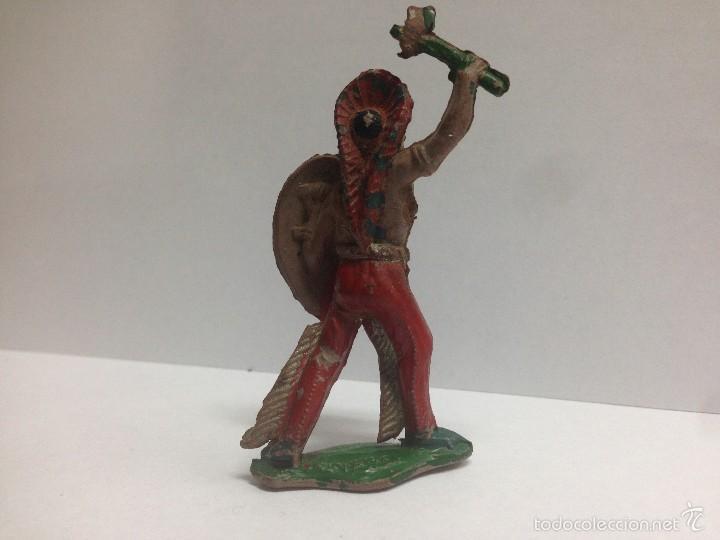 Figuras de Goma y PVC: FIGURA INDIO FABRICADO EN GOMA POR LAFREDO MIDE 7 CMTS - Foto 2 - 56044406