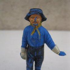 Figuras de Goma y PVC: EL CABO RUSTY - RIN TIN TIN - FIGURA DE GOMA ORIGINAL DE JECSAN - AÑOS 50.. Lote 56084700