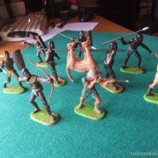 Figuras de Goma y PVC: ELASTOLIN 7 CMTS SAFARI MUY DIFICIL. Lote 56095403