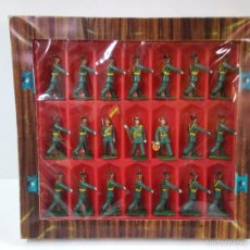 Figuras de Goma y PVC: CAJA DEL DESFILE DE LA GUARDIA CIVIL . ORIGINAL REAMSA.. Lote 56161784
