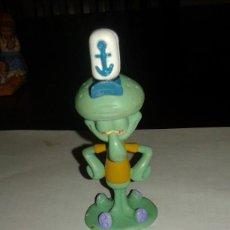 Figuras de Goma y PVC: VIACOM CALAMARDO FIGURA DE PVC PERSONAJE DE BOB ESPONJA. Lote 56187323