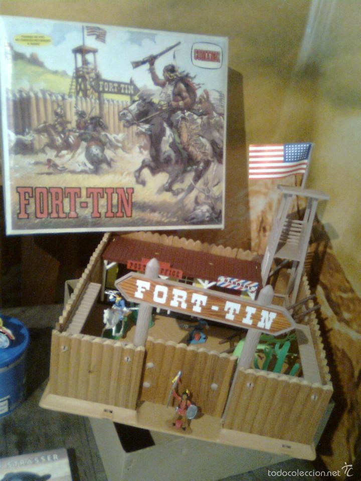 Figuras de Goma y PVC: Fort Tin - Fuerte Comansi primeros 70 - Prácticamente nuevo. Sin uso - Foto 2 - 56193128