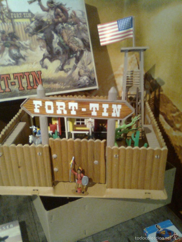 Figuras de Goma y PVC: Fort Tin - Fuerte Comansi primeros 70 - Prácticamente nuevo. Sin uso - Foto 3 - 56193128