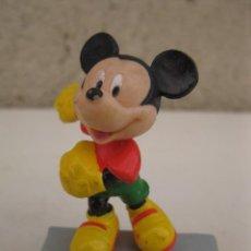 Figuras de Goma y PVC: MICKEY MOUSE PATINADOR - FIGURA DE PVC - WALT DISNEY - CHUPA CHUPS.. Lote 56237393