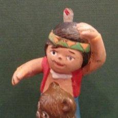 Figuras de Goma y PVC: FIGURA PVC SENDA JACKY Y NUCA EL BOSQUE DE TALLAC EURA SPAIN NIPPON. Lote 56256357