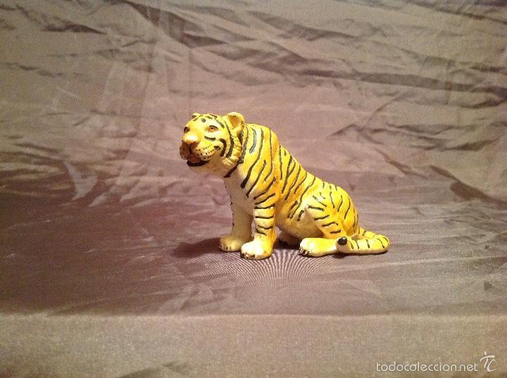 FIGURA TIGRE SHLEICH EN PVC 1993 (Juguetes - Figuras de Goma y Pvc - Schleich)