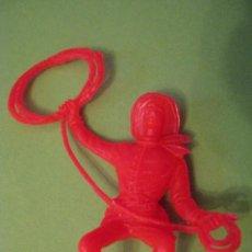 Figuras de Goma y PVC: FIGURA DE VAQUERO. Lote 56305188
