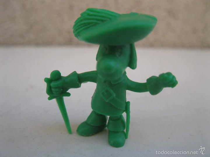 D'ARTACAN - FIGURA PROMOCIONAL DE PLÁSTICO - D'ARTACAN Y LOS 3 MOSQUEPERROS - DUNKIN - PHOSKITOS. (Juguetes - Figuras de Goma y Pvc - Dunkin)