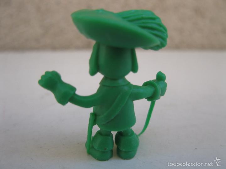 Figuras de Goma y PVC: D'ARTACAN - FIGURA PROMOCIONAL DE PLÁSTICO - D'ARTACAN Y LOS 3 MOSQUEPERROS - DUNKIN - PHOSKITOS. - Foto 2 - 56369264