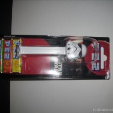 Dispensador Pez: -DISPENSADOR CARAMELOS PEZ STAR WARS BLISTER NUEVO. Lote 56372280